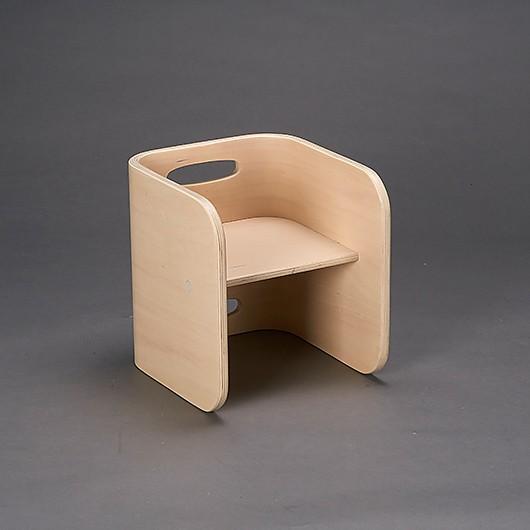 아이보리 의자