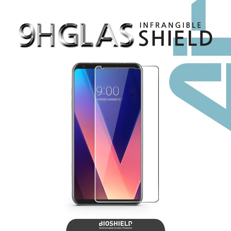 LG V30 인프랜져블 9H 글라스쉴드에어 충격방지 액정보호필름