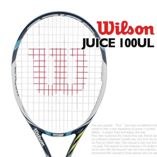윌슨 주스 100UL 테니스라켓 - 16x18 / 262g