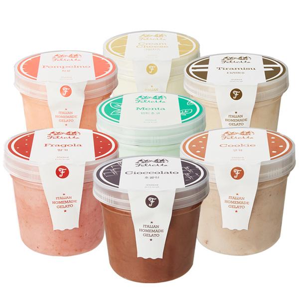 펠리치따 젤라또 이탈리안 아이스크림 350ml 7가지맛