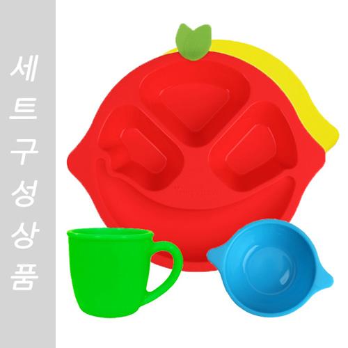 친환경 실리콘 유아동 식기세트