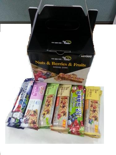 간식추천 영양간식 다이어트식품 견과류 프리미엄견과바 25gr x 18개입