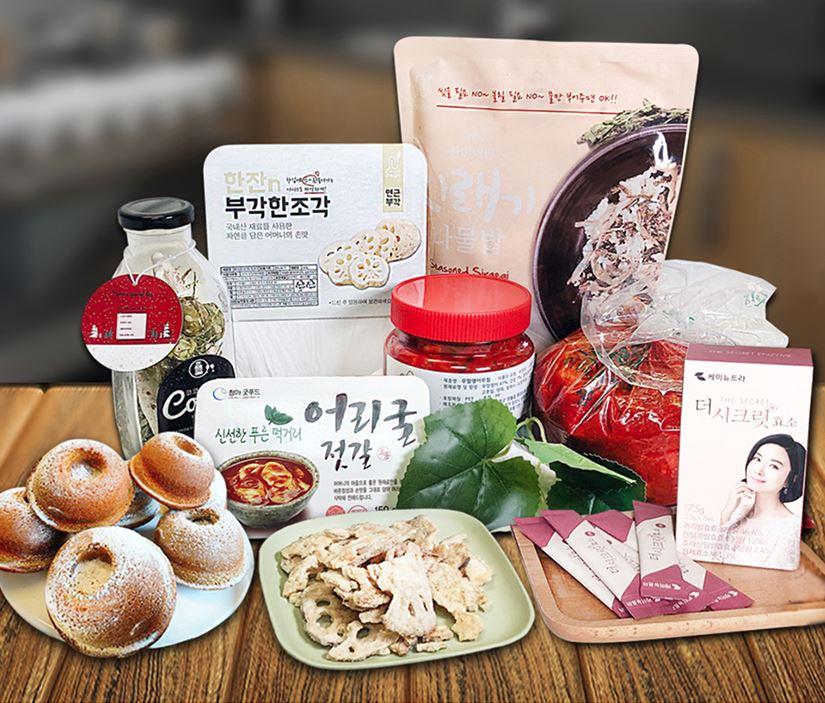 [정선드림] 청정자연 정선 농산물 12월 꾸러미 정기배송 (1개월~12개월)