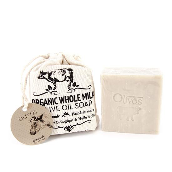 [올리보스] 오가닉 홀밀크 올리브 비누 150g